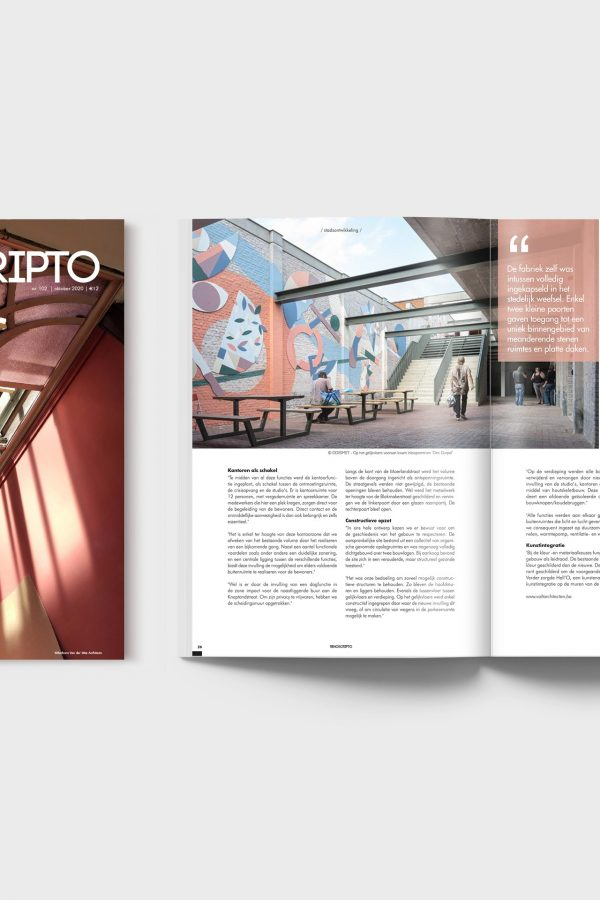vakmagazine Renoscripto over renoveren